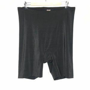 Spanx Slimming Shorts Black Spandex High Waisted